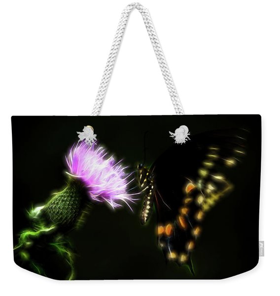 Backroad Butterfly Weekender Tote Bag