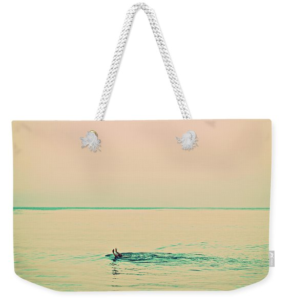 Backstroke Weekender Tote Bag