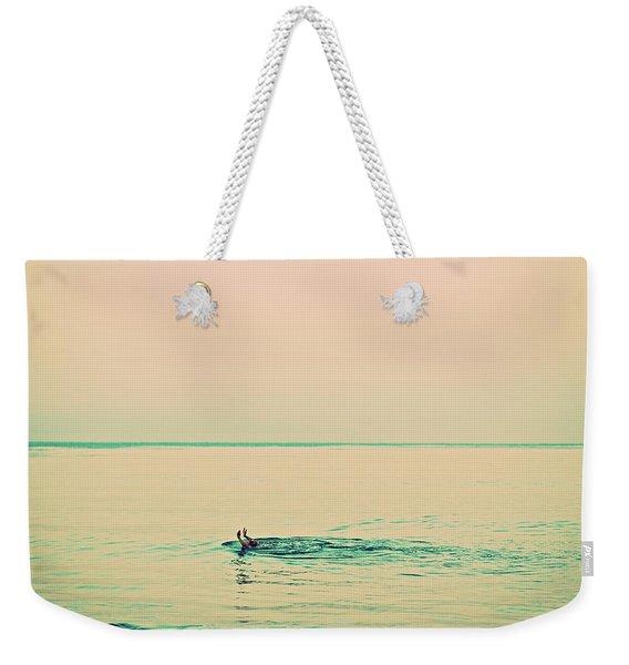 Backstroke Weekender Tote Bag