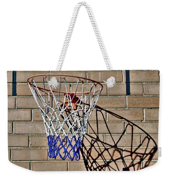 Backyard Basketball Weekender Tote Bag