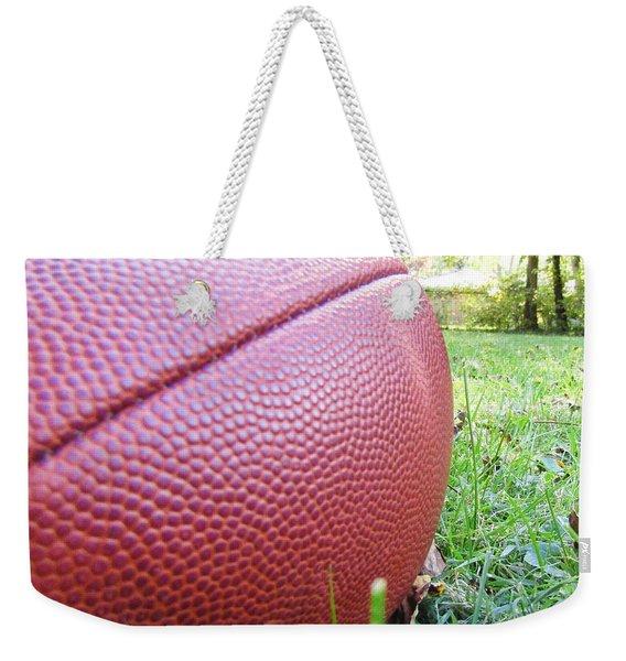 Backyard Football Weekender Tote Bag