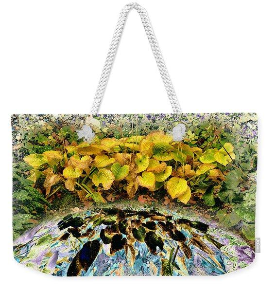 Backyard Portal.... Weekender Tote Bag
