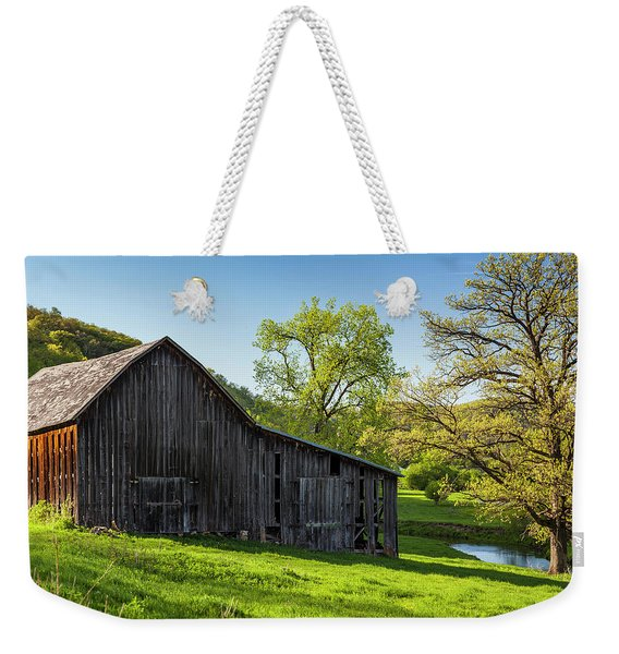 Bad Axe Barn Weekender Tote Bag