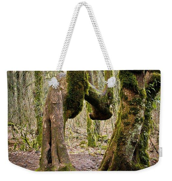 Bad Back Weekender Tote Bag