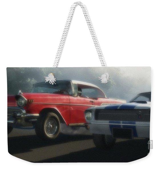 Bad Company Weekender Tote Bag
