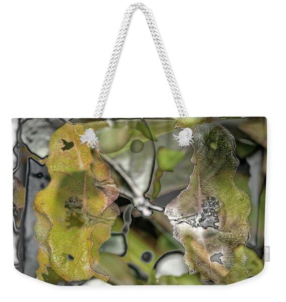...bad Day Easel..... Weekender Tote Bag