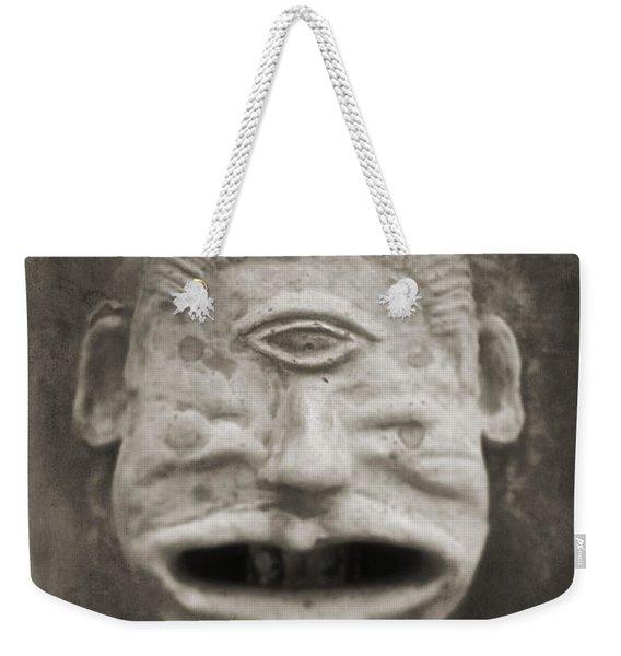 Bad Face Weekender Tote Bag