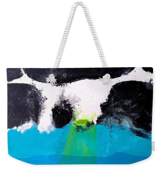 Bad Moon Rising Weekender Tote Bag