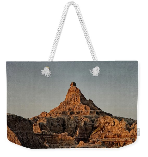 Badlands At Sunrise Weekender Tote Bag