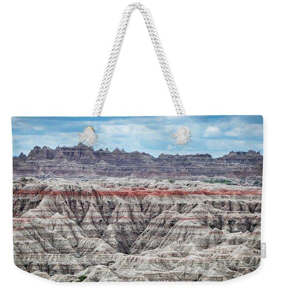 Badlands National Park Vista Weekender Tote Bag
