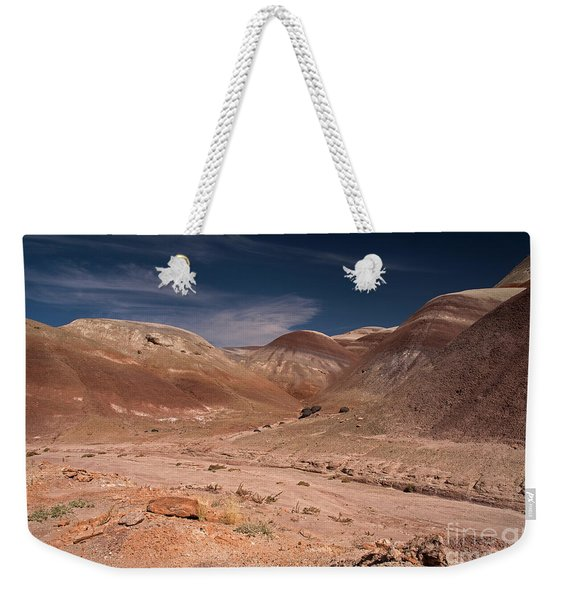 Badlands Near Hanksville Utah Weekender Tote Bag