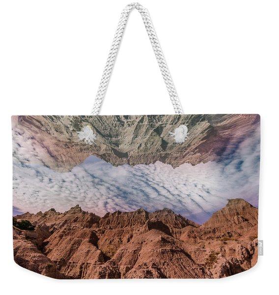 Badlands Reflection.... Weekender Tote Bag
