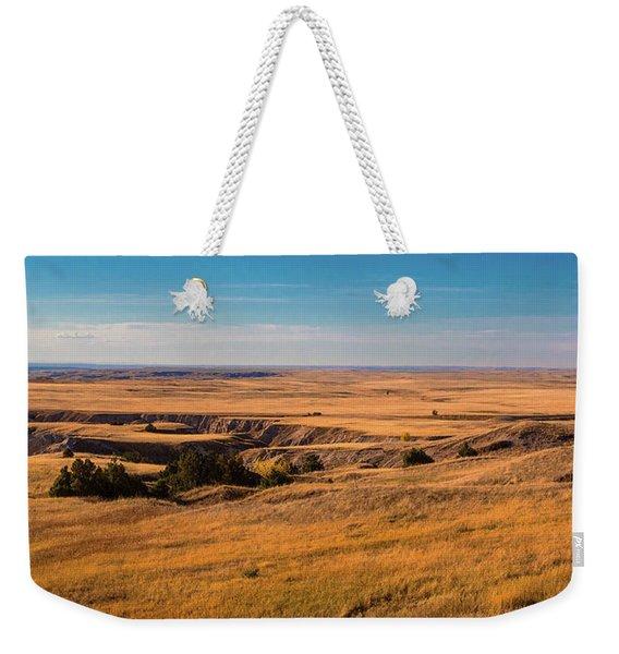 Badlands Vi Panoramic Weekender Tote Bag