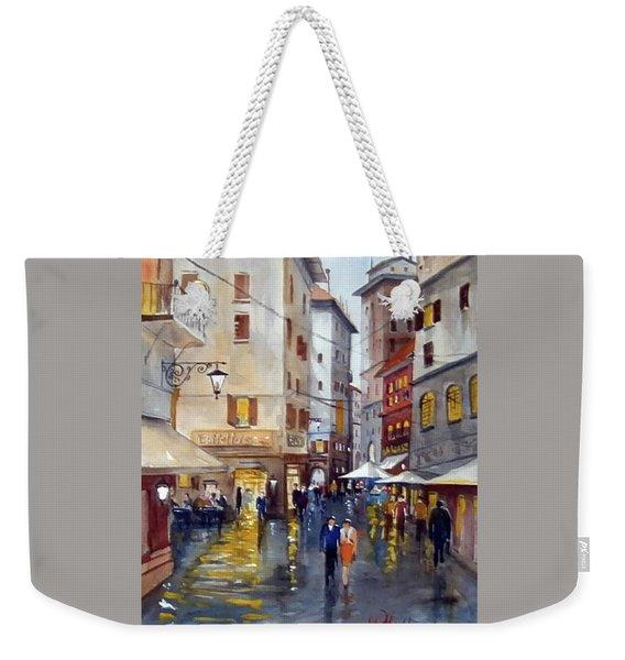 Baffettos Rome Weekender Tote Bag