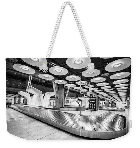 Baggage Reclaim Madrid Airport Weekender Tote Bag