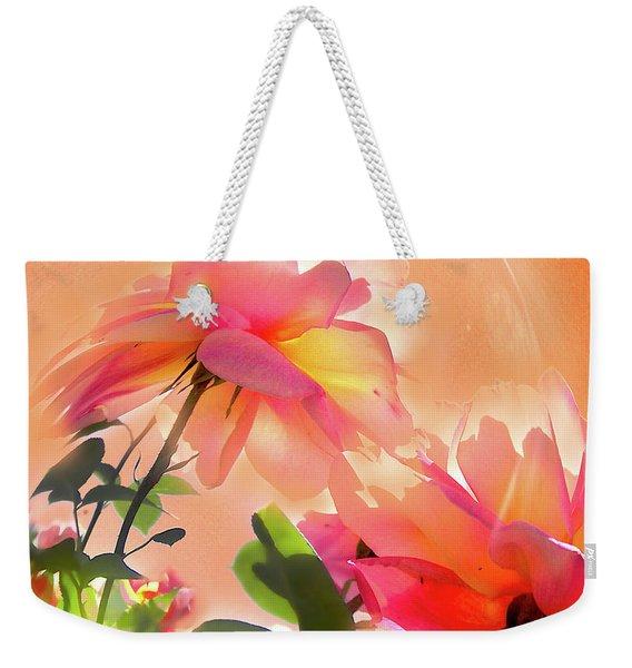 Baile Floral Weekender Tote Bag