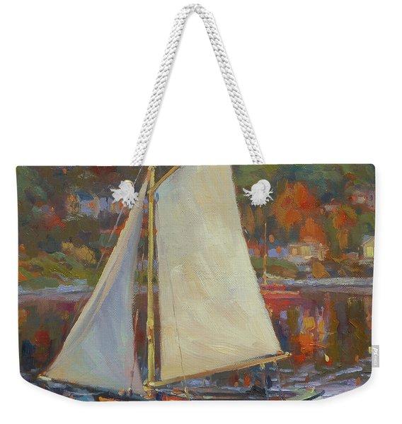 Bainbridge Island Sail Weekender Tote Bag