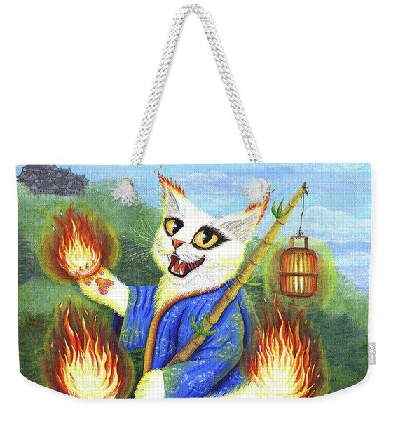 Bakeneko Nekomata - Japanese Monster Cat Weekender Tote Bag