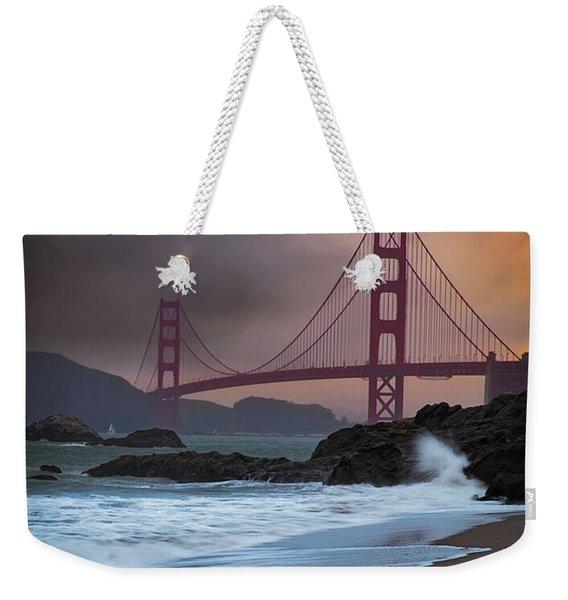 Baker's Beach Weekender Tote Bag