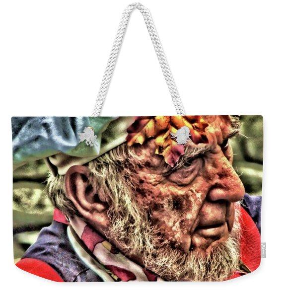 Baker's Fall Weekender Tote Bag