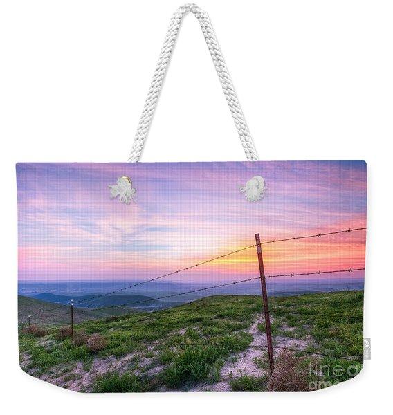 Bakersfield Hills  Weekender Tote Bag