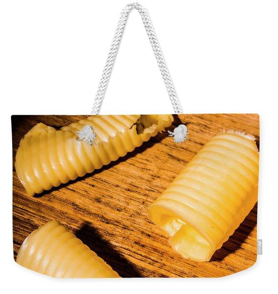Baking Curls Weekender Tote Bag