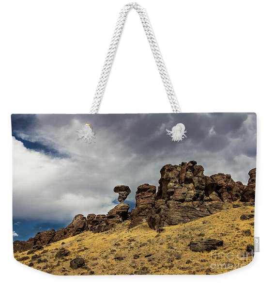 Balanced Rock Adventure Photography By Kaylyn Franks Weekender Tote Bag