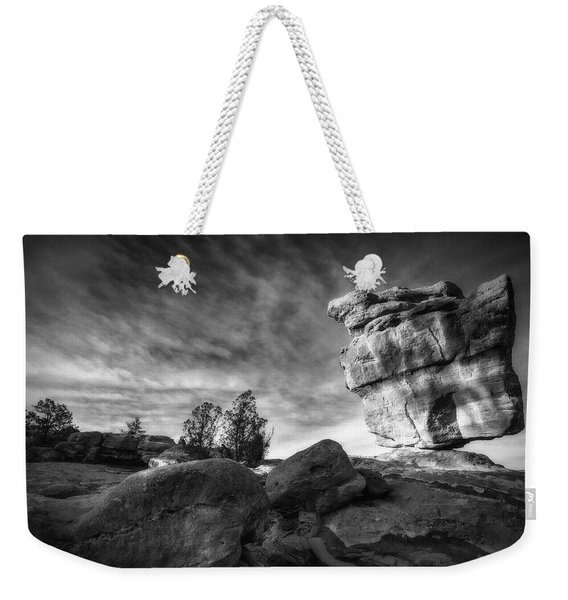 Balanced Rock Garden Of The Gods Weekender Tote Bag