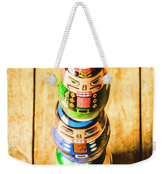 Balancing The Command Structure Weekender Tote Bag