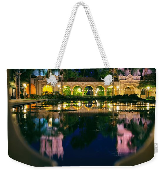 Balboa Park Reflections  Weekender Tote Bag