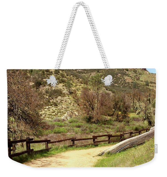 Balconies Trail - Pinnacles National Park Weekender Tote Bag