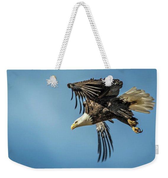 Bald Eagle Flight 1 Weekender Tote Bag