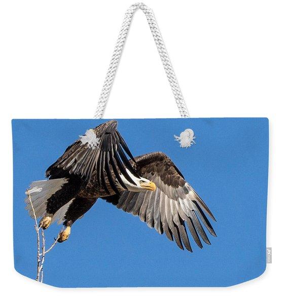 Bald Eagle Flight 3 Weekender Tote Bag