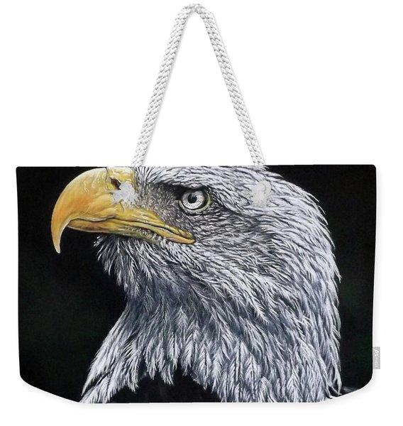 Bald Eagle Weekender Tote Bag