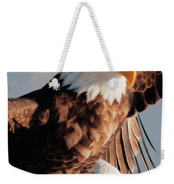 Bald Eagles Weekender Tote Bag