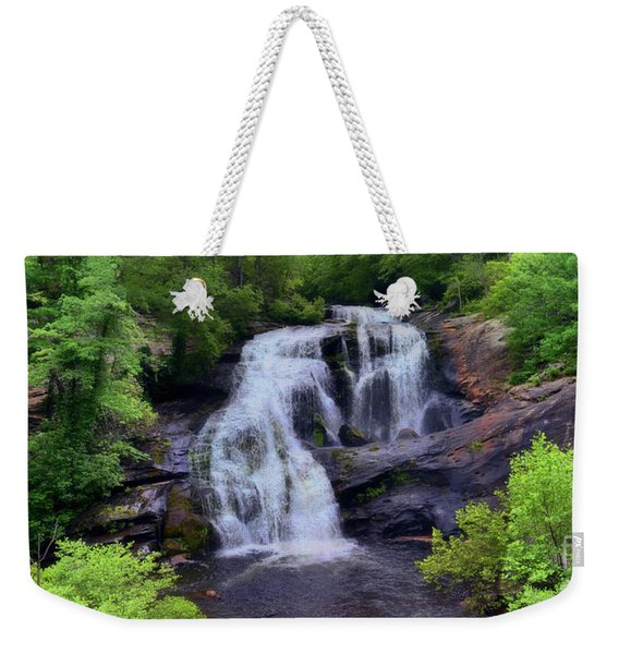 Bald River Falls, Tenn. Weekender Tote Bag