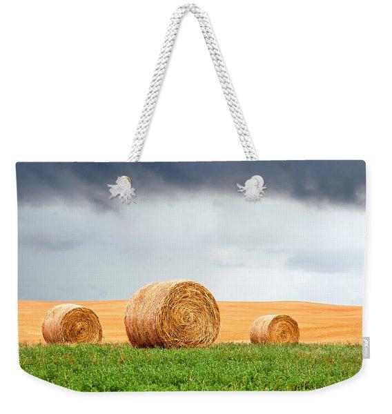 Bales And Layers Weekender Tote Bag