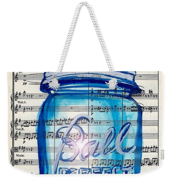 Ball Mason Jar Classical #168 Weekender Tote Bag