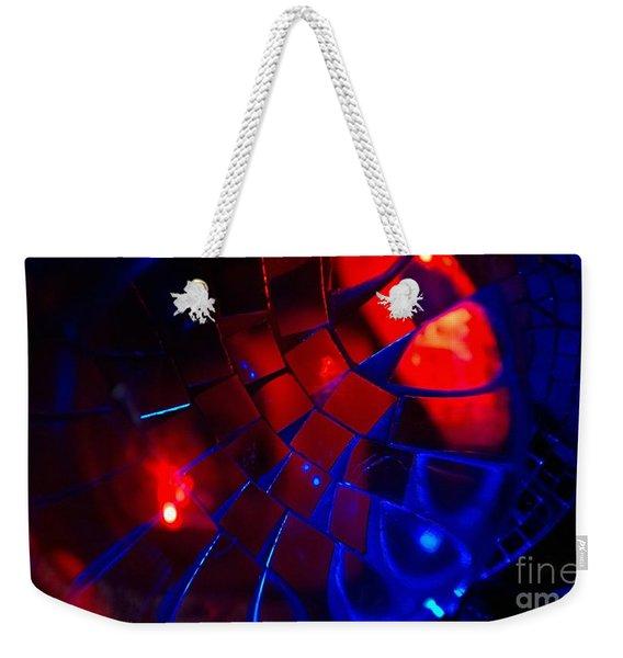Ball Of Color - Red Weekender Tote Bag