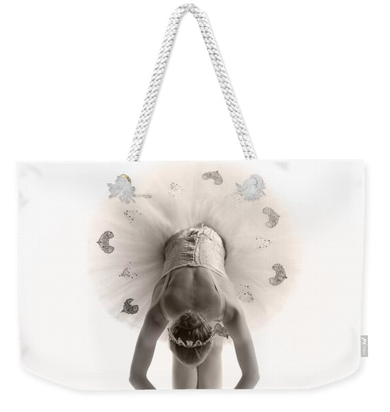 Ballerina Bent Weekender Tote Bag