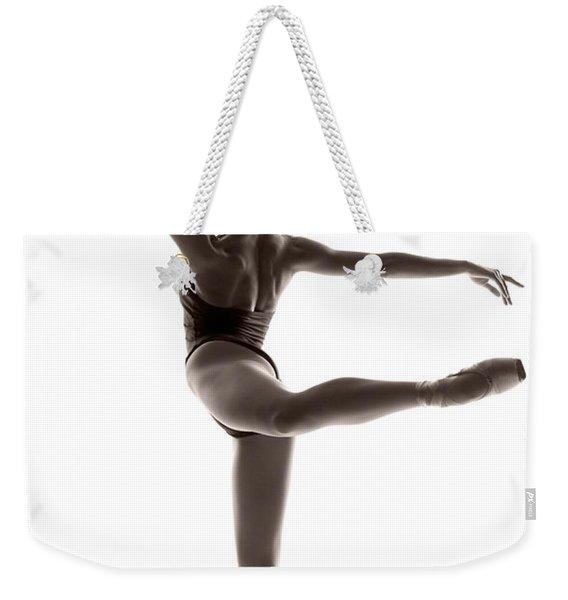 Ballerina Grace Weekender Tote Bag