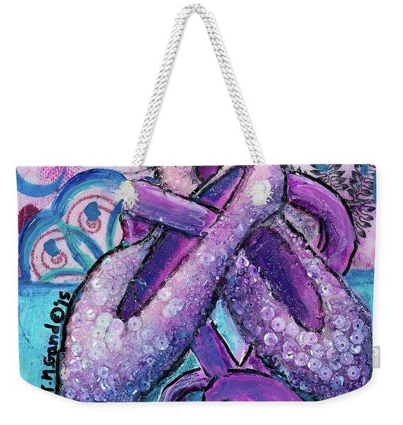 Ballerina Slippers Weekender Tote Bag