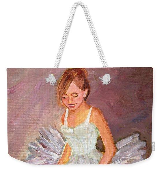 Ballerina  Weekender Tote Bag
