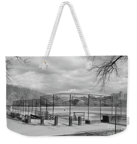 Ballfields Weekender Tote Bag