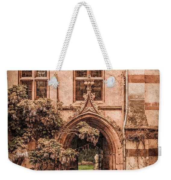 Oxford, England - Balliol Gate Weekender Tote Bag
