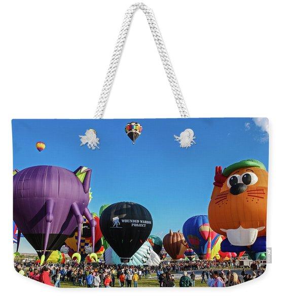 Balloon Fiesta Albuquerque I Weekender Tote Bag
