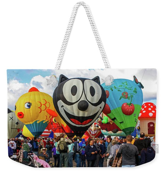 Balloon Fiesta Albuquerque II Weekender Tote Bag
