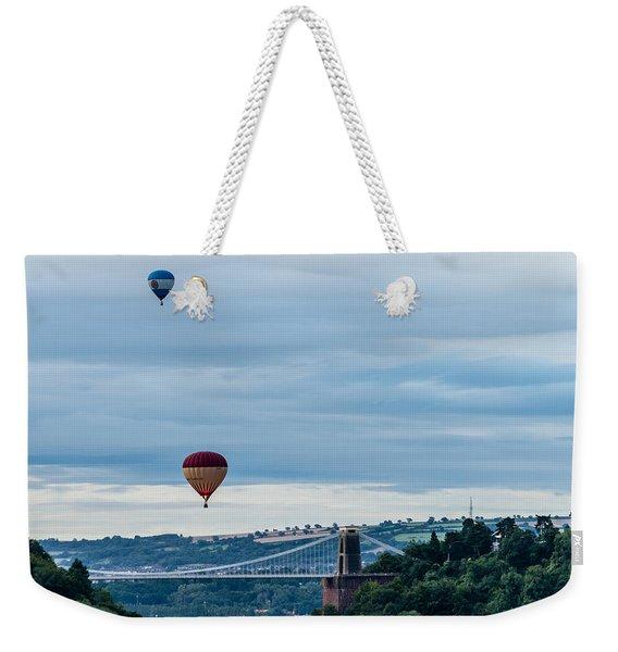 Balloon Fiesta Bristol A Weekender Tote Bag
