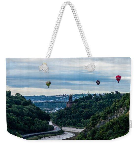 Balloon Fiesta Bristol B Weekender Tote Bag