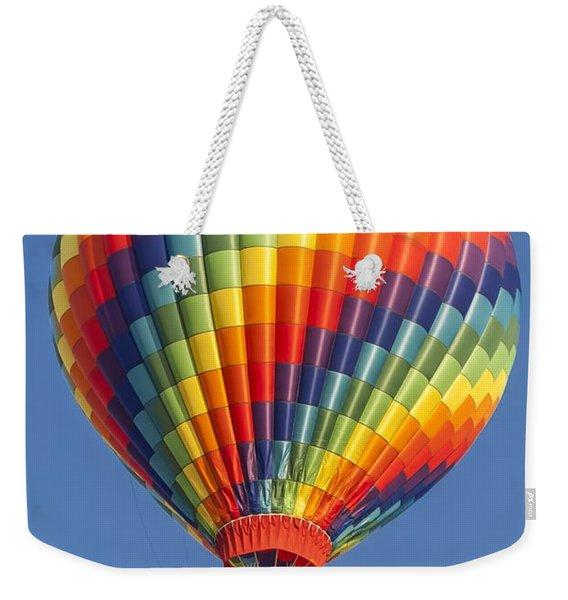 Ballooning In Color Weekender Tote Bag
